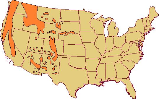 Western Forest Range - Mountain ranges of the united states